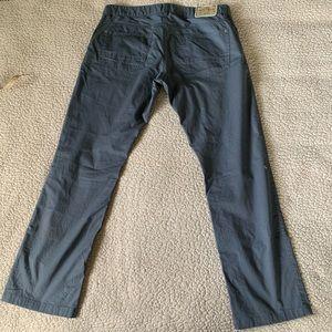 Rosé Pistol Jeans - Rosé Pistol Lightweight Pinstriped Twill Jeans GUC